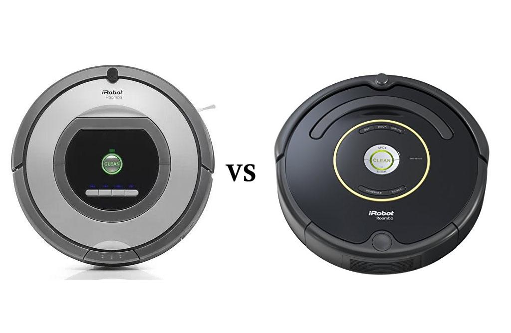 Roomba 761 vs 650