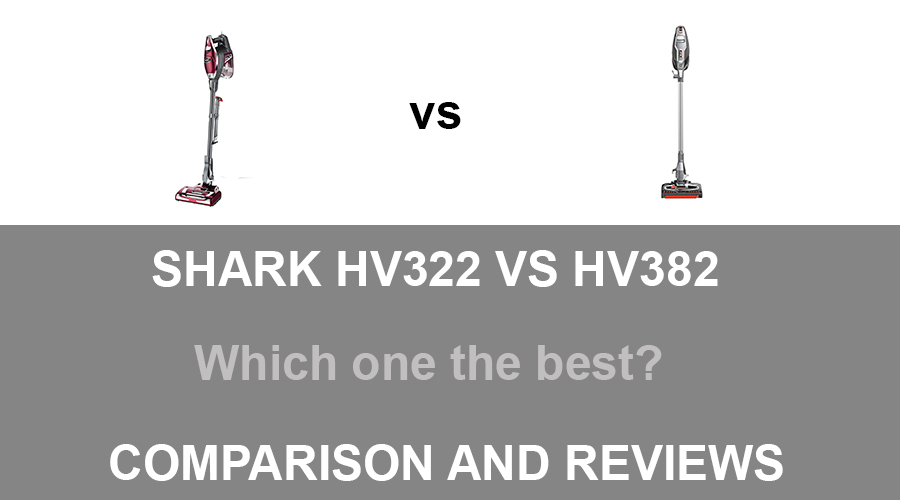 Shark HV322 vs HV382