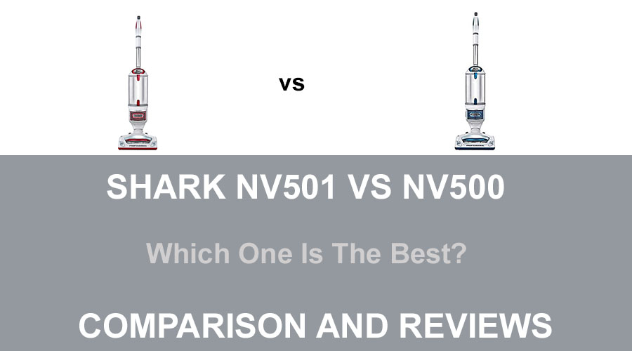 Shark NV500 Vs NV501