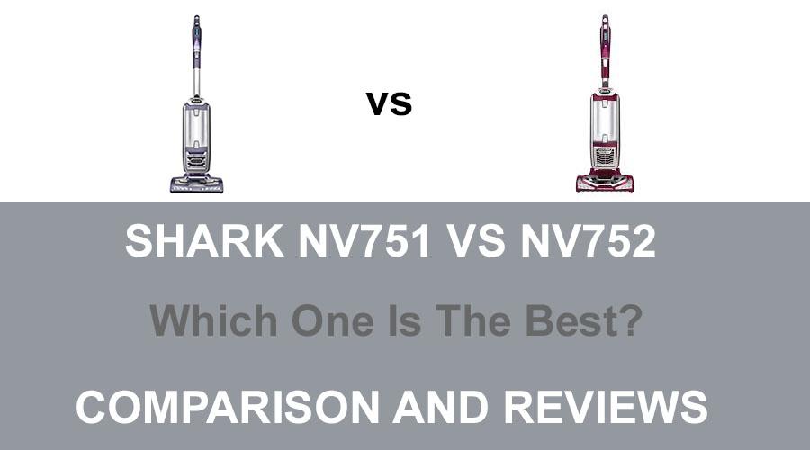 Shark NV752 vs NV751