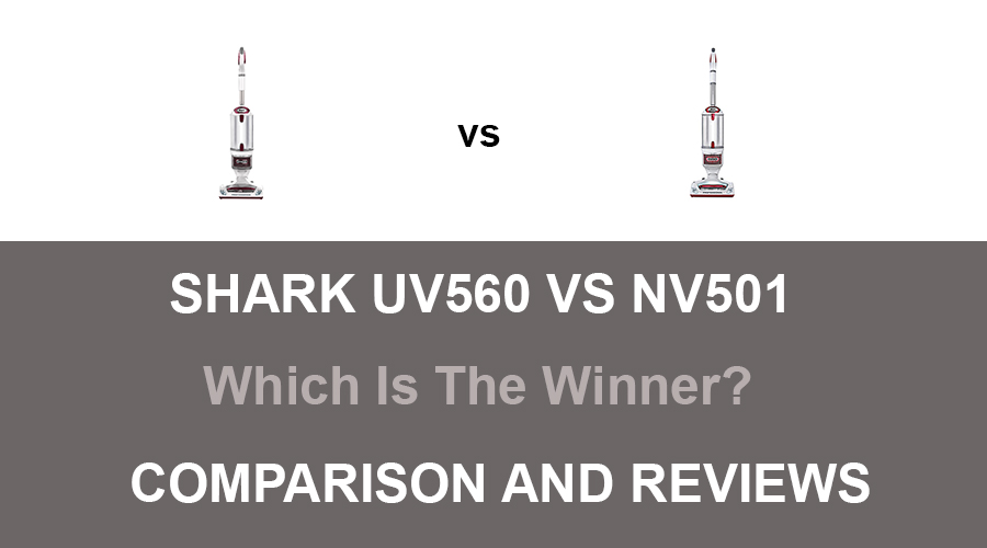 Shark UV560 vs NV501