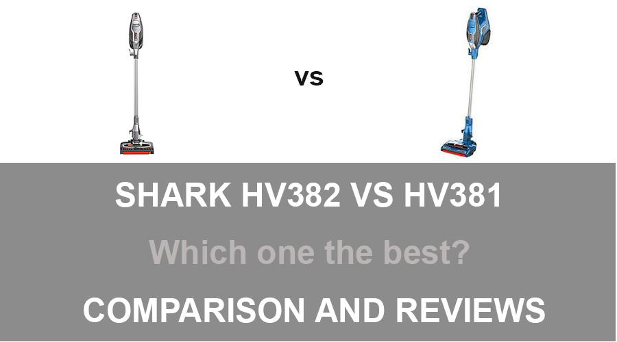 Shark HV382 vs HV381