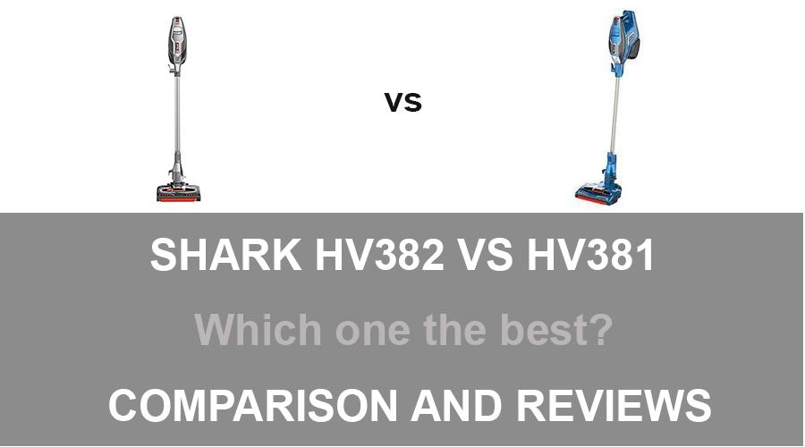 Shark HV382 vs HV381