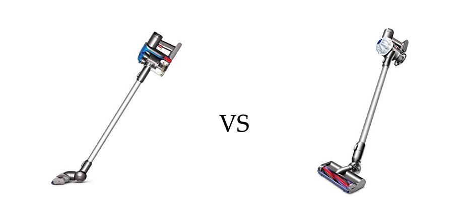 Dyson DC35 vs V6