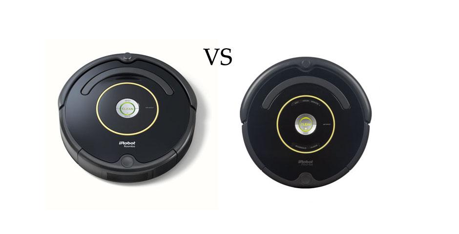 Roomba 614 vs 650