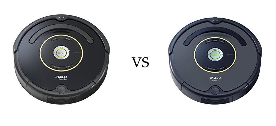 Roomba 650 vs 652