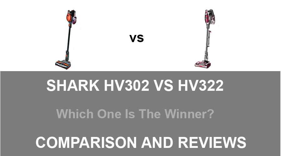 Shark HV301 VS HV322
