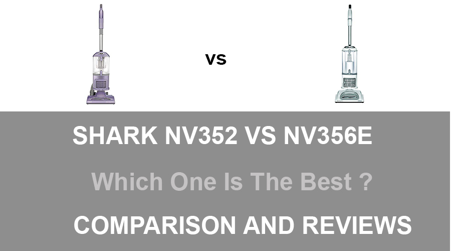 Shark NV352 vs NV356E