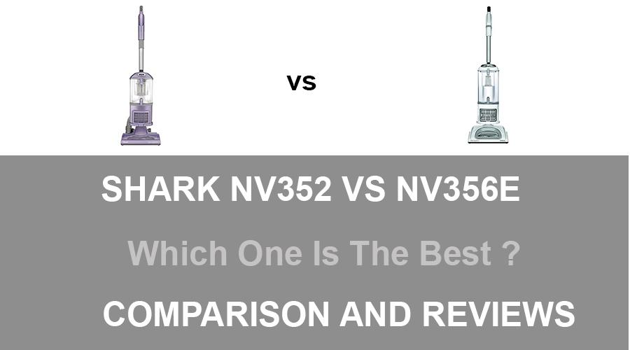 Shark NV352 vs NV356E