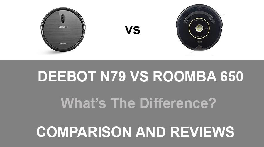 DEEBOT N79 vs ROOMBA 650
