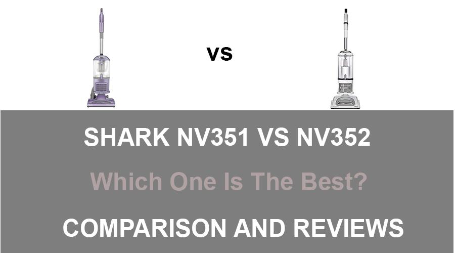 Shark NV351 vs NV355