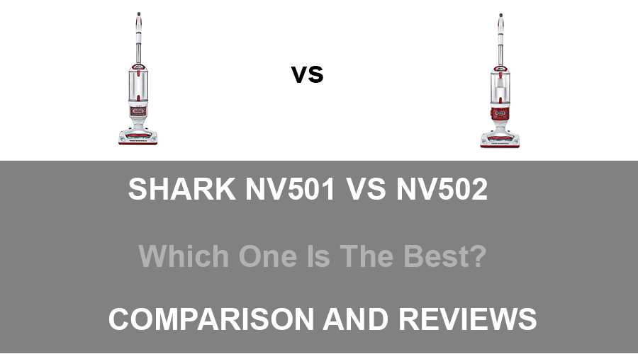 Shark NV501 vs NV502