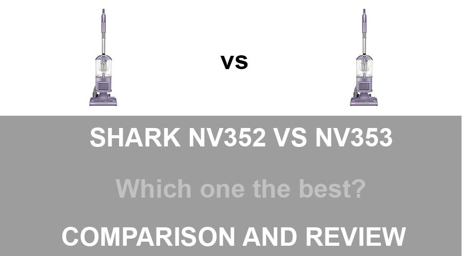 Shark NV352 vs NV353