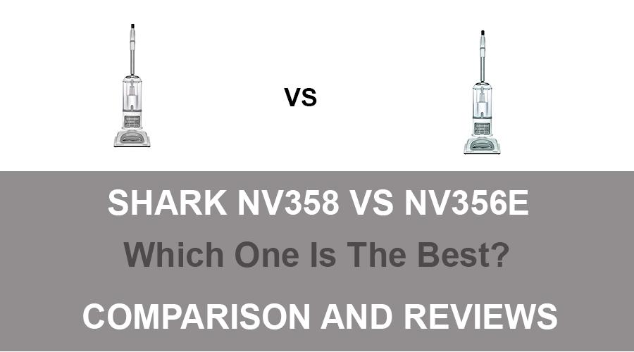 Shark NV358 vs NV356e
