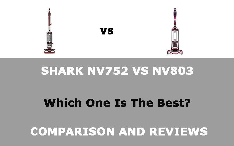 Shark NV752 VS NV801