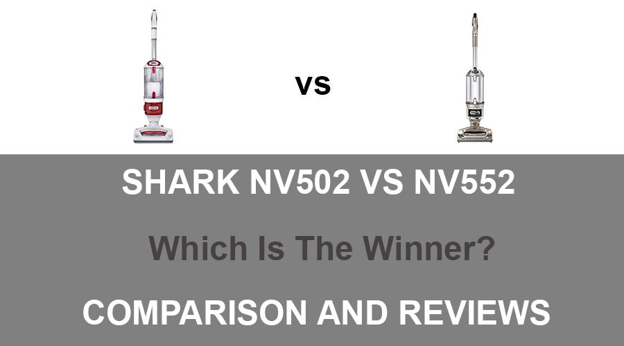 shark nv502 vs nv552