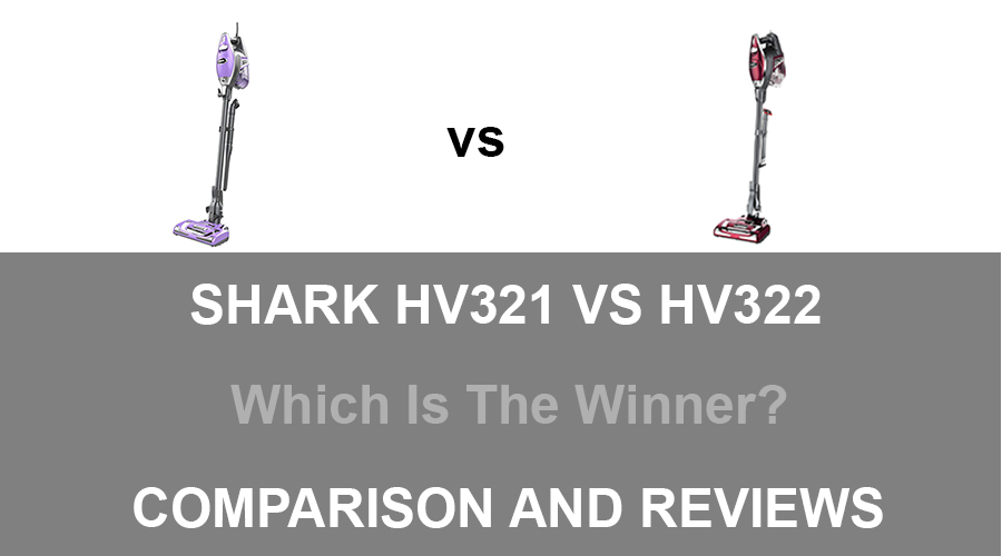 Shark HV321 vs HV322