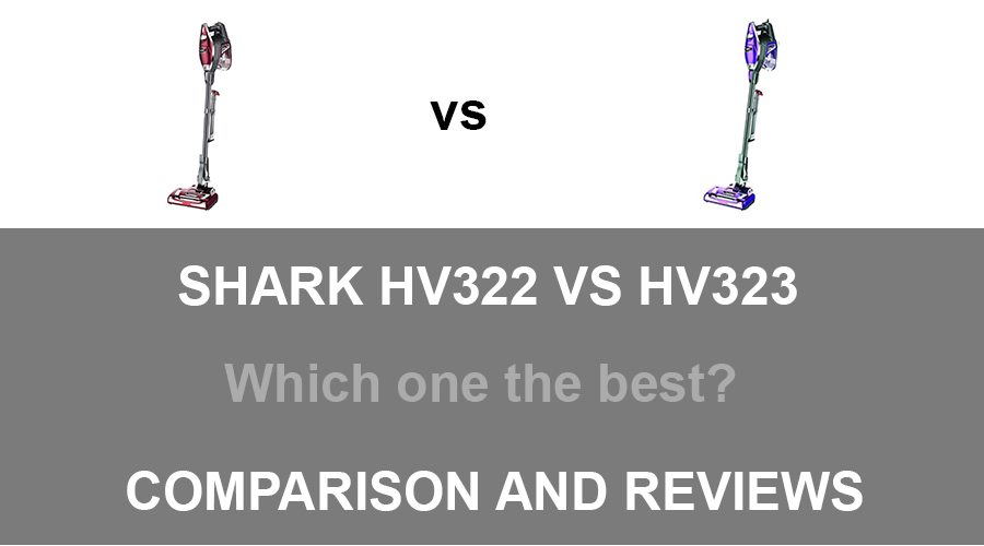 Shark HV322 vs HV323