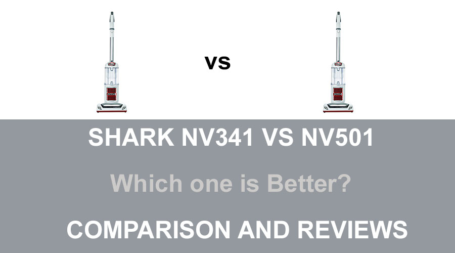 Shark NV341 vs NV501