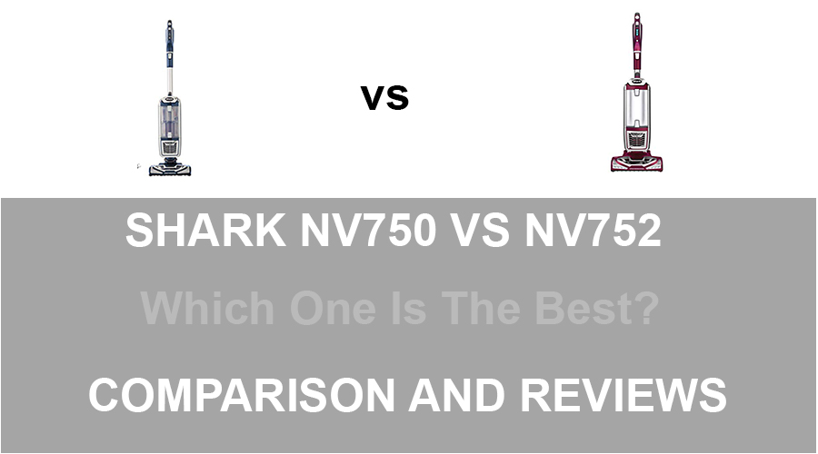 Shark NV750 vs NV752