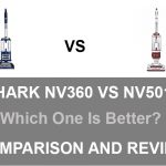 Shark NV360 vs NV501