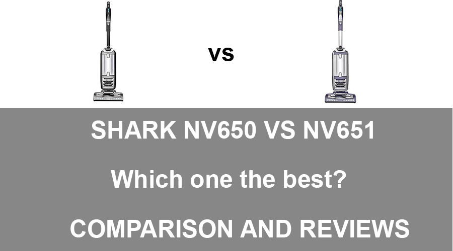 Shark NV650 vs NV651