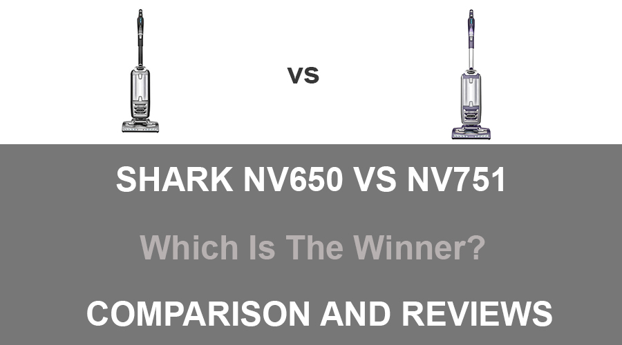 Shark NV650 vs NV751