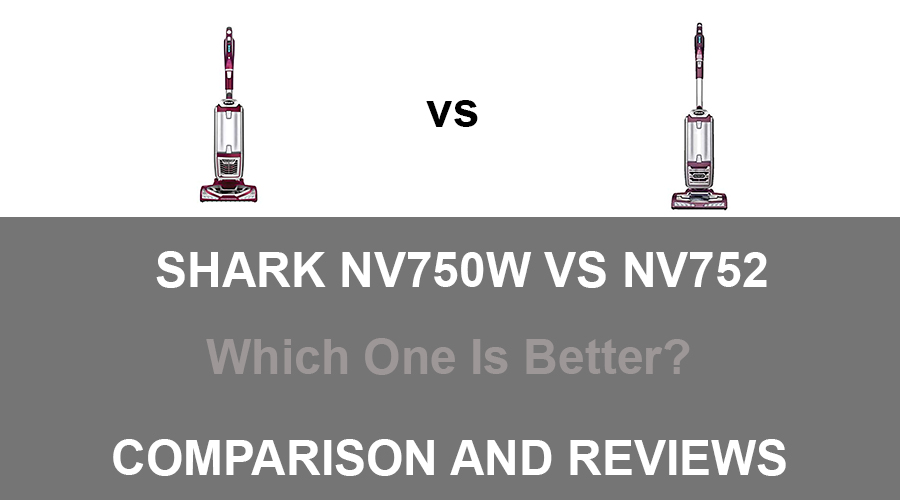 Shark NV750W vs NV752