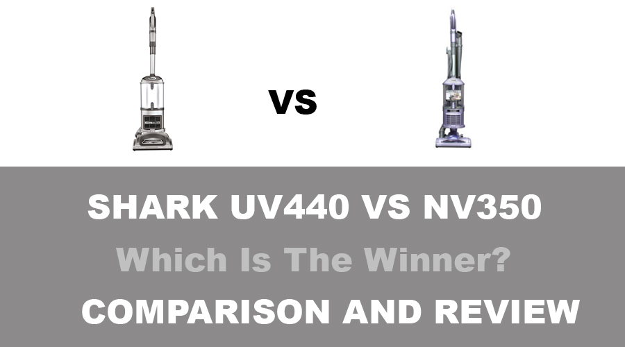 Shark UV440 vs NV350