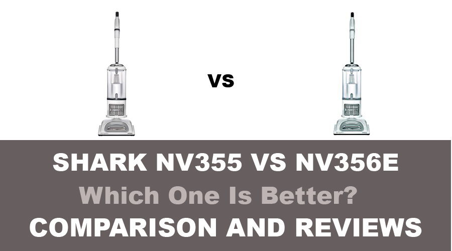 shark nv355 vs nv356e