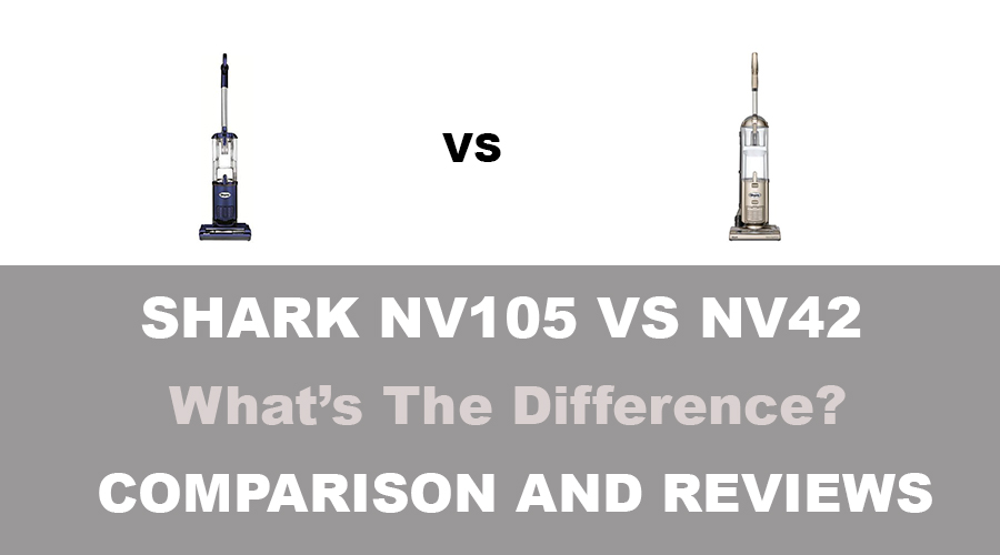 Shark NV105 vs NV42