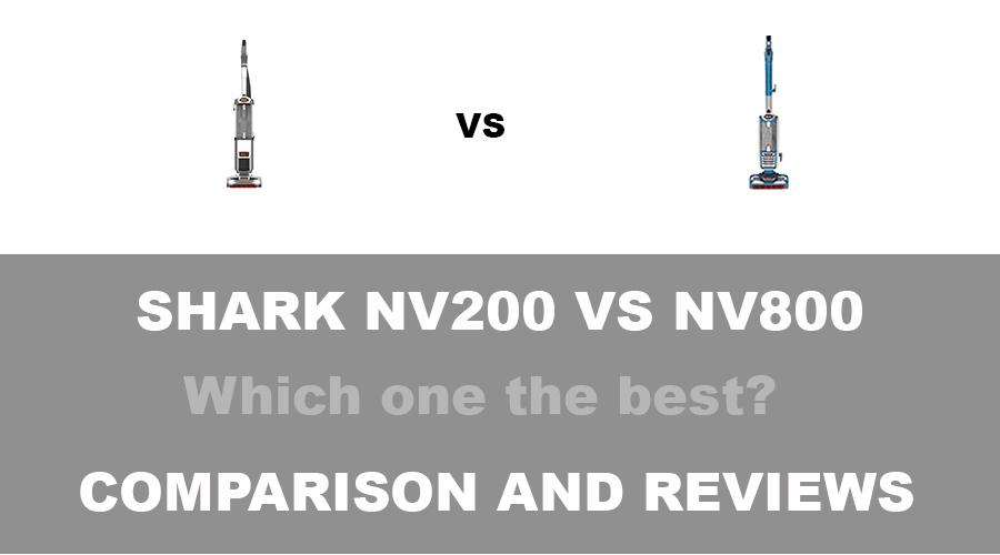 Shark NV200 vs NV800