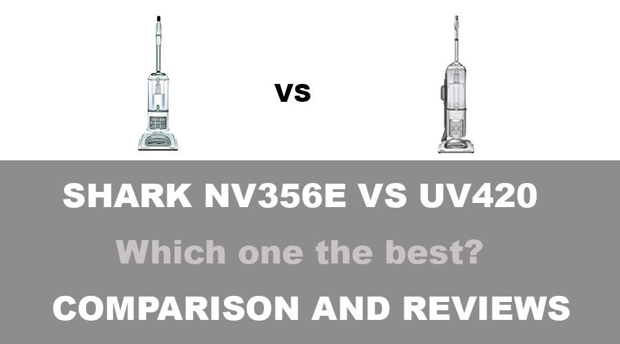 Shark NV356e vs UV420