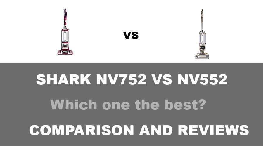Shark NV752 VS NV552