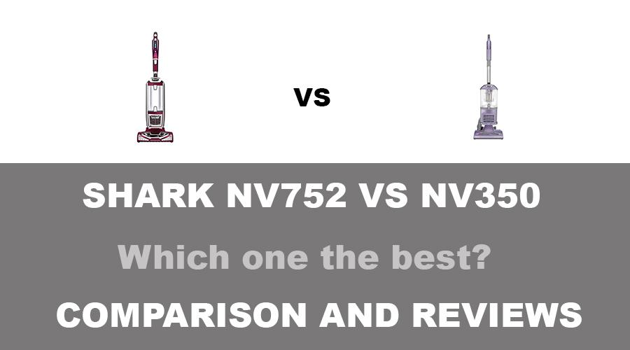 Shark NV752 vs NV350