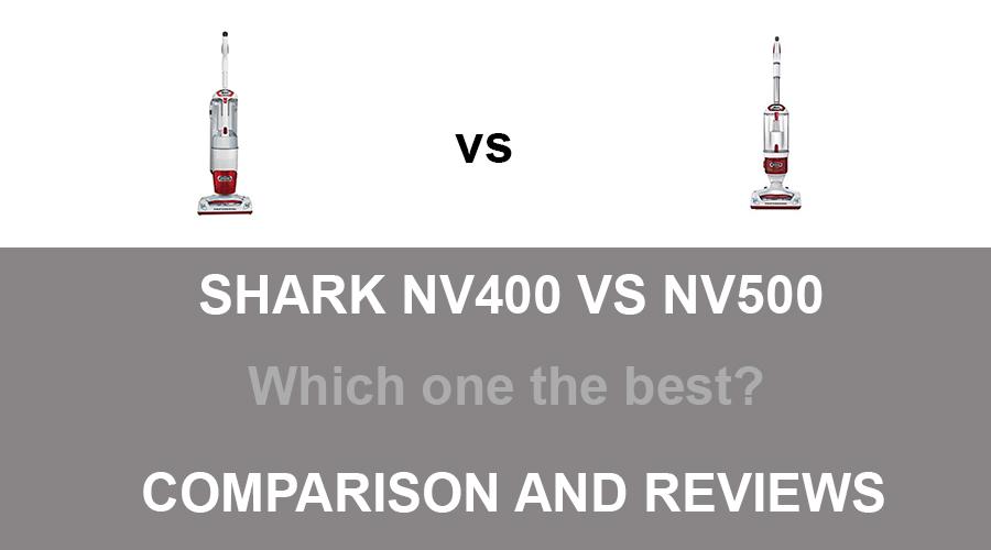 Shark NV400 vs NV500
