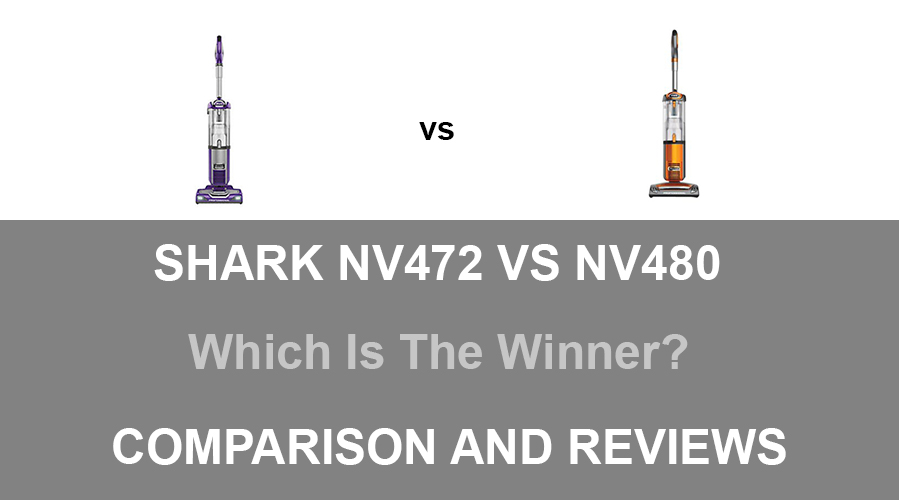 Shark NV472 vs NV480