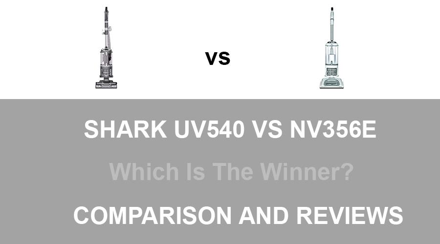 Shark UV540 vs NV356E