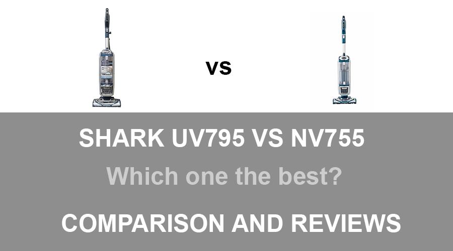 Shark UV795 vs NV755