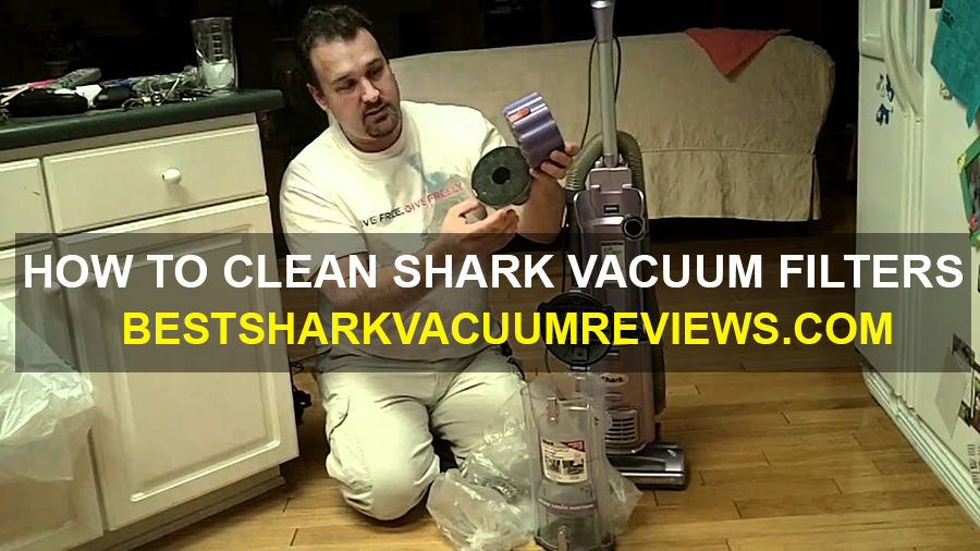 How to Clean Shark Vacuum Filters