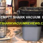 How to empty Shark vacuum dust cup