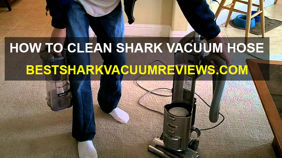 How to clean Shark Vacuum Hose