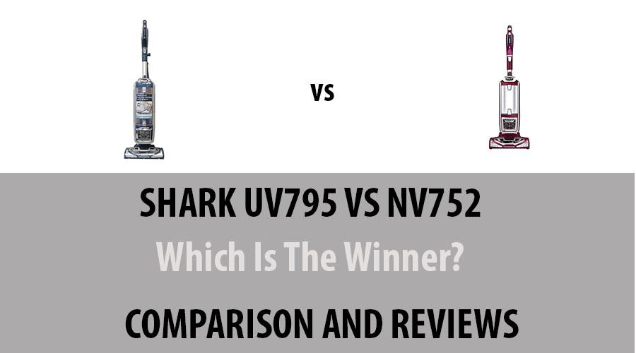 Shark UV795 vs NV752