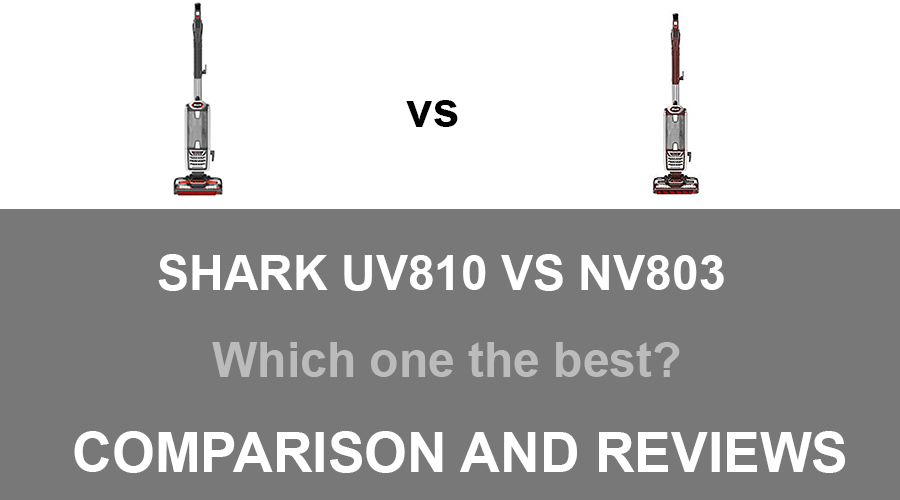 Shark UV810 vs NV803