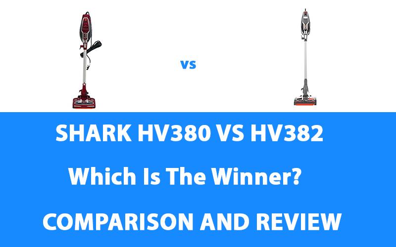 Shark HV380 vs HV382