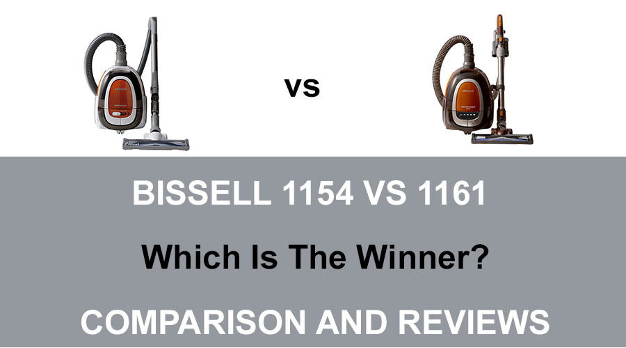 Bissell 1154 vs 1161