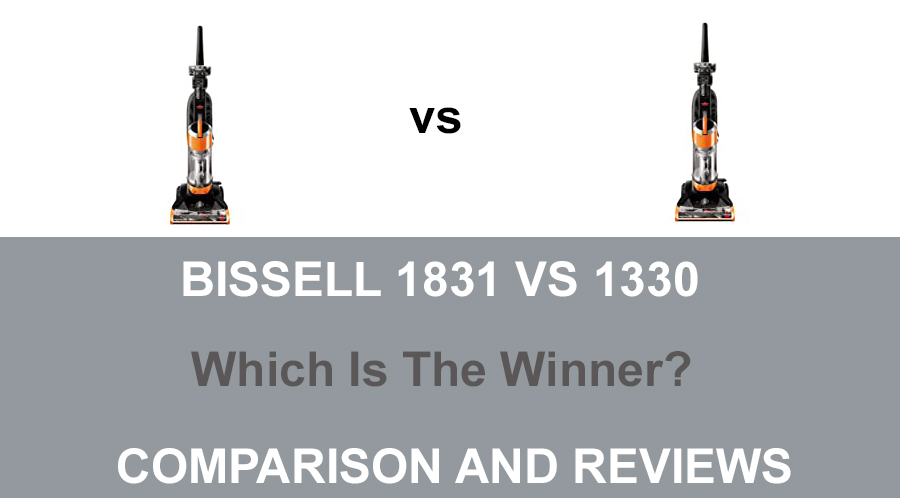 Bissell 1831 vs 1330