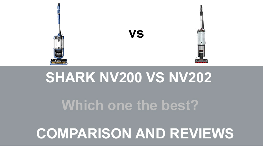 Shark NV200 vs NV202