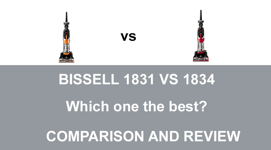 Bissell 1831 vs 1834