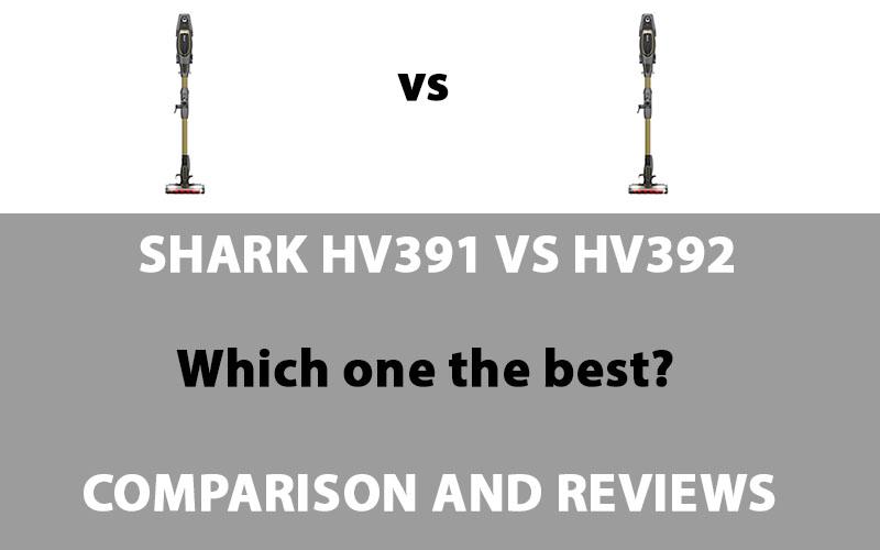 Shark HV391 vs HV392